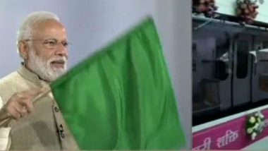 Nagpur Metro Flagged Off by PM Narendra Modi, To Be Open For Public From March 8