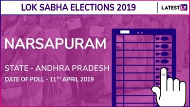Narsapuram Lok Sabha Constituency in Andhra Pradesh Results 2019: Kanumuru Raghu Rama Krishna Raju of YSRCP Wins Parliamentary Election