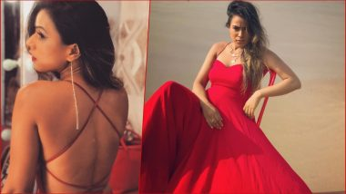 Nia Sharma Looks Red Hot in This Sexy Backless Gown! Check Out Bold TV Actress' New Pics