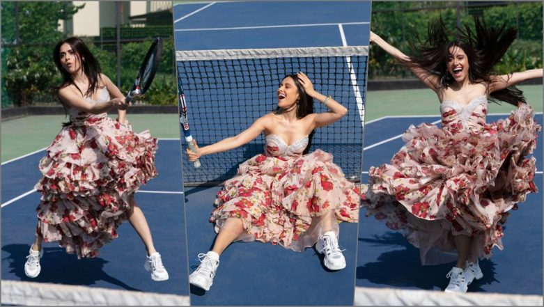 Nushrat Bharucha Serves Up an Ace Wearing This Flirty, Floral Dress; See Pics of 'Dream Girl' Actress in Her Latest Photoshoot