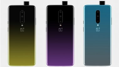 OnePlus 7 Flagship Phone Likely To Be Launched in Three Variants; Specifications & Design Leaked Ahead of May Launch