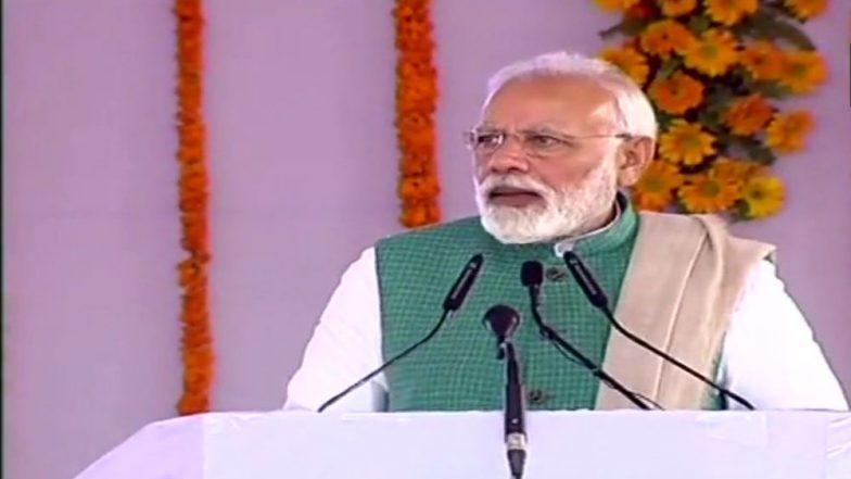 Lok Sabha Elections 2019: PM Narendra Modi Urges Supporters to Take 'Main Bhi Chowkidar' Pledge (Watch Video)