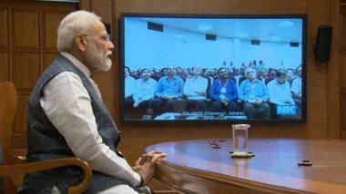 Mission Shakti: PM Narendra Modi Congratulates DRDO Scientists Via Video Conferencing, Says 'Hum Kisise Kum Nahi'