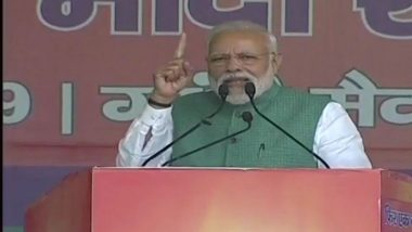 PM Narendra Modi at Patna Rally: 'Congress Demoralising Armed Forces by Asking For Proof of Air Strike'