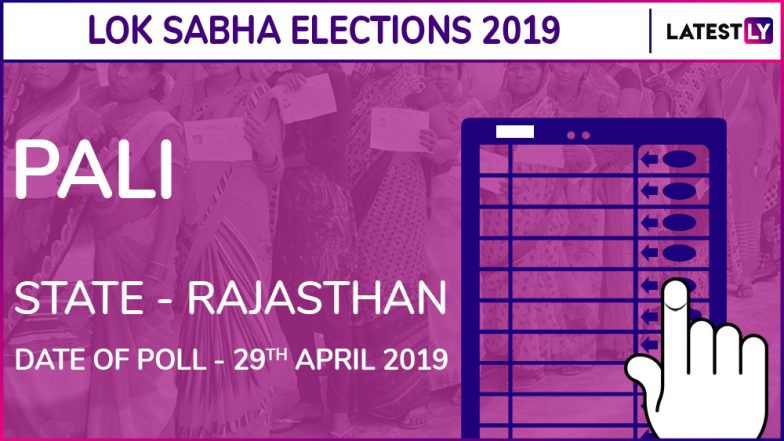 Pali Lok Sabha Constituency in Rajasthan: Candidates, Current MP, Polling Date And Election Results 2019