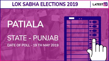 Patiala Lok Sabha Constituency in Punjab Results 2019: Congress Candidate Preneet Kaur Elected as MP