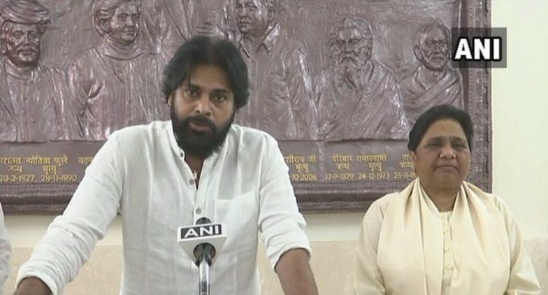 Mayawati Should be Next Prime Minister of India, Says Pawan Kalyan as BSP, Jana Sena Announce Alliance Ahead of Lok Sabha Elections 2019