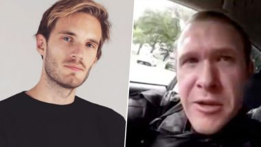 New Zealand Mosque Shooter Shouts Out to PewDiePie in Facebook Live Stream Video; Here's How the YouTuber Responded