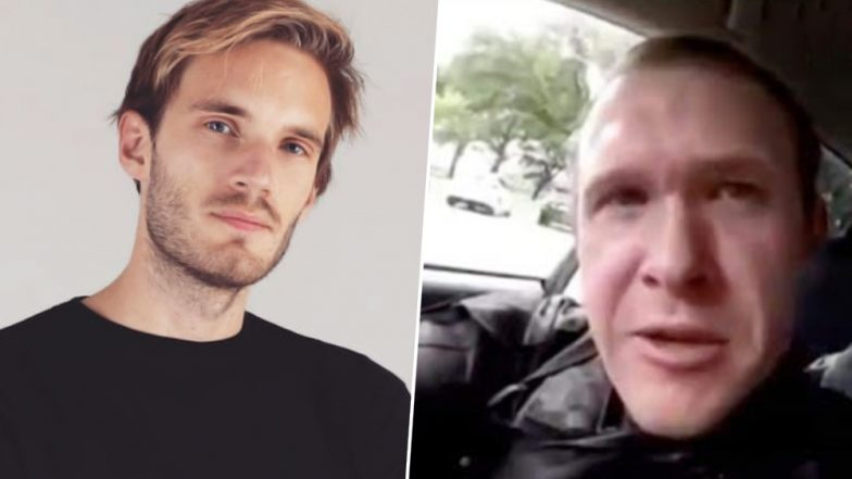 New Zealand Shooter Live Stream Image: New Zealand Mosque Shooter Shouts Out To PewDiePie In