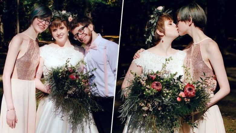 Woman and Husband Fell in Love With Her Bridesmaid and Now Live Together, But There's NO SEX! Watch Video of This Polyamorous Triad
