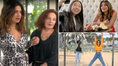 If I Could Tell You Just One Thing: Priyanka Chopra's Chat With Diane Von Furstenberg, Awkwafina and Simone Biles is Awe-Inspiring (Watch Video)