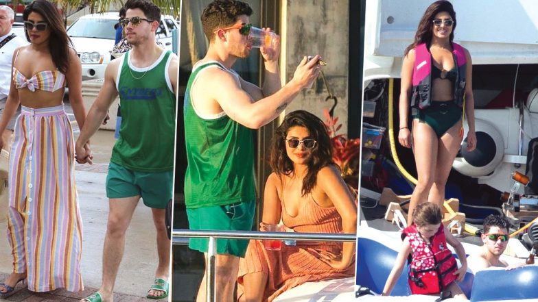 Priyanka Chopra Makes Nick Jonas, Joe and Sophie Turner Dance on 'Tareefan' and Sonam Kapoor Exclaims 'Wah'! (Watch Video)