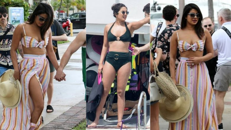 Priyanka Chopra Welcomes Summer In Stylish Bikini Tops - Get All The Details Of The Ensembles From Her Recent Miami Rendezvous!