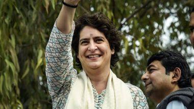 Priyanka Gandhi Vadra Trolled for Greeting 'Nauroz' Instead of 'Navreh' to Kashmiris