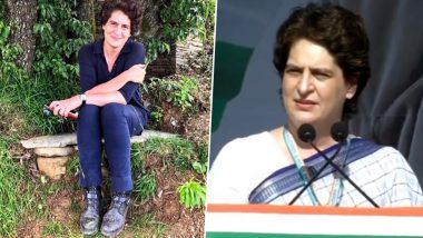 Priyanka Gandhi Vadra Buzzing on Twitter: From Profile Photo in Jeans to Debuting Political Speech With 'Behno'