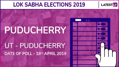 Puducherry Lok Sabha Constituency in Puducherry Results 2019: INC Candidate Ve Vaithilingam Elected MP