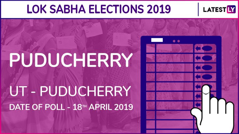 Puducherry Lok Sabha Constituency in Puducherry Results 2019: INC Candidate Ve Vaithilingam Elected MP