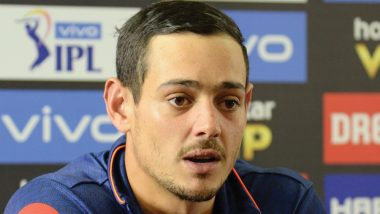 Quinton De Kock Says 'I Was Just a Replacement, T20 Captaincy Is Still Faf Du Plessis' Baby'