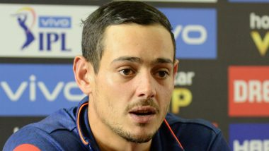 Quinton de Kock Admits Security Was a Concern Before Reaching Pakistan to Play Upcoming Bilateral Series