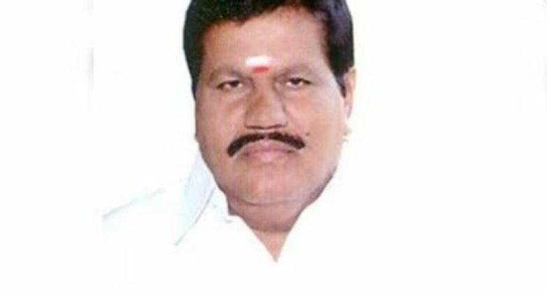 R Kanagaraj, AIADMK MLA From Tamil Nadu's Sulur, Dies Due to Cardiac Arrest
