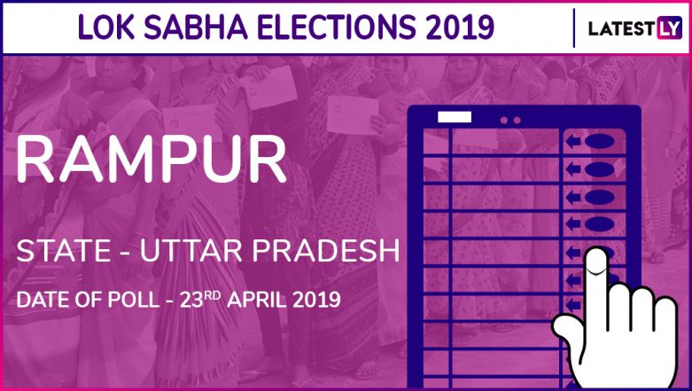 Rampur Lok Sabha Constituency in Uttar Pradesh Live Results 2019: Leading Candidates From The Seat, 2014 Winning MP And More