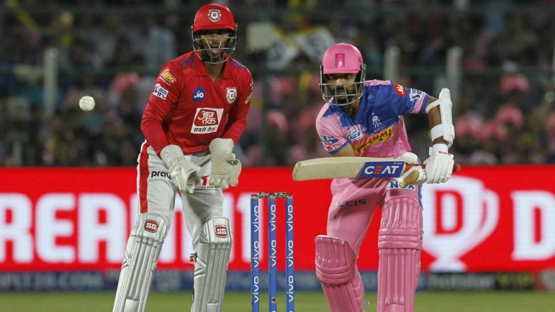 KXIP vs RR, Head-to-Head Record: Ahead of IPL 2019 Clash, Here Are Match Results of Last 5 Kings XI Punjab vs Rajasthan Royals Encounters!