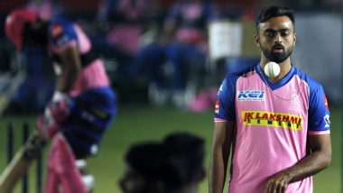 Jaydev Unadkat, Rajasthan Royals Bowler, Pledges to Make Contributions Towards COVID-19 Relief Fund