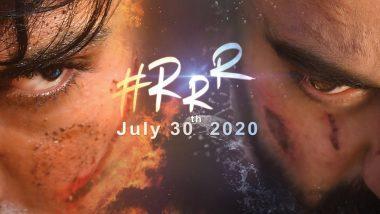 RRR Poster: Ram Charan and Jr NTR's 'Bloody' Avatar As Alluri Seetharamaraju and Komaram Bheem Is Intriguing