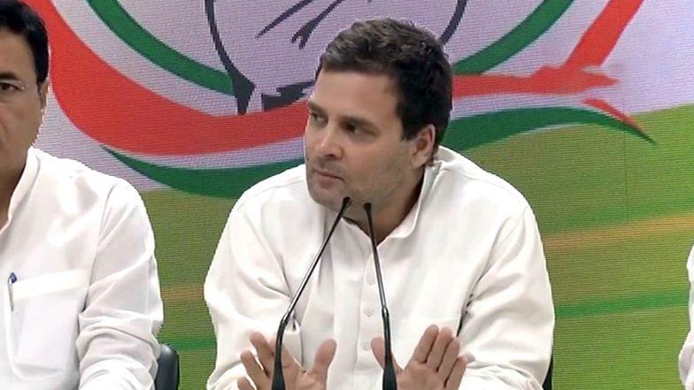 Rahul Gandhi's Visit to Alwar Gangrape Victim Postponed Due to Bad Weather