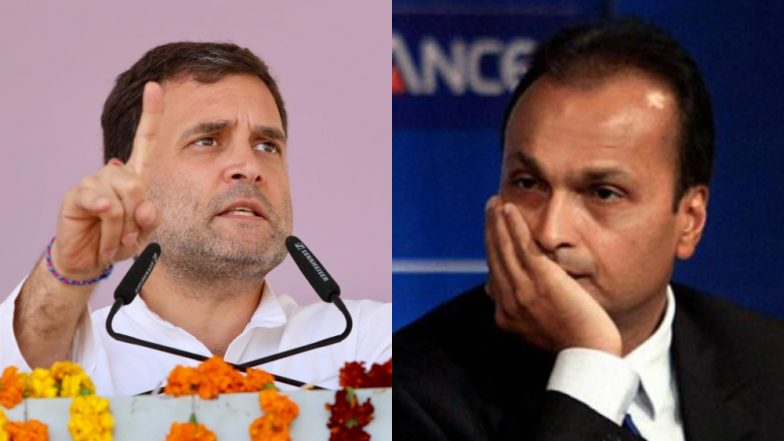 Rafale Deal: Rahul Gandhi Mocks Anil Ambani, Says 'He Will Not be Able to Make Even a Paper Plane'