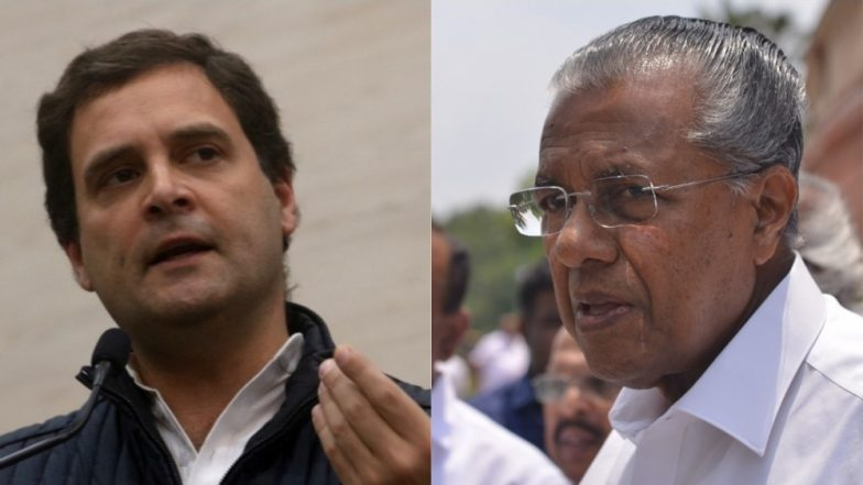 Rahul Gandhi to Contest From Wayanad: Furious CPM Vows to Defeat Congress President in Lok Sabha Election 2019