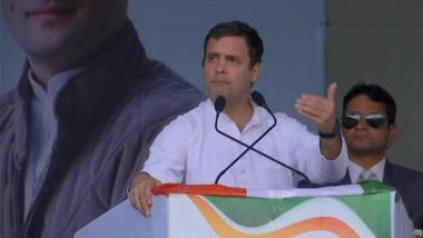 Lok Sabha Elections 2019: Will Pass Women's Reservation Bill if Cong Comes to Power, Says Rahul Gandhi