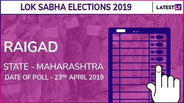 Raigad Lok Sabha Constituency in Maharashtra Results 2019: NCP Candidate Sunil Tatkare Elected as MP