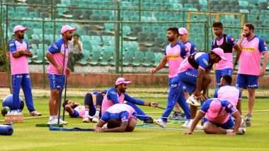 RR vs MI, IPL 2019, Jaipur Weather & Pitch Report: Here's How the Weather Will Behave for Indian Premier League 12's Match Between Rajasthan Royals vs Mumbai Indians