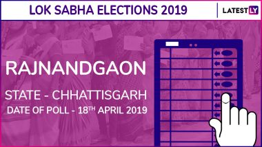 Rajnandgaon Lok Sabha Constituency in Chhattisgarh Results 2019: BJP Candidate Santosh Pandey Elected as MP