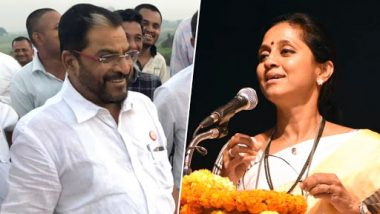 Lok Sabha Elections 2019: NCP Releases First List of Candidates, Gives Ticket to Supriya Sule and SSS's Raju Shetty