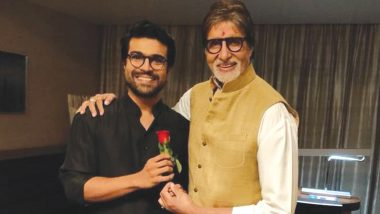 Amitabh Bachchan's Birthday Wishes for Ram Charan in Telugu-Language Is the Best Thing You'll See on the Internet Today! Watch Video