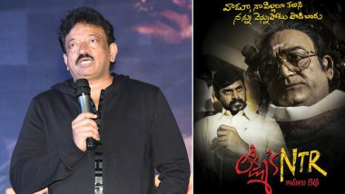 Ram Gopal Varma aka RGV to File a Case on CBFC for Illegally Stopping His Film Lakshmi's NTR