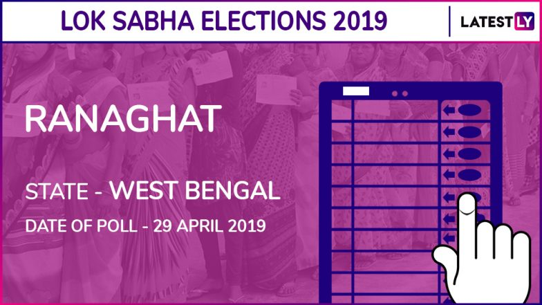 Ranaghat Lok Sabha Constituency in West Bengal: Candidates, Current MP, Polling Date And Election Results 2019