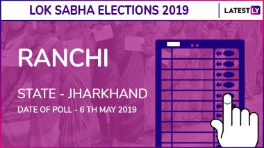 Ranchi Lok Sabha Constituency in Bihar Live Results 2019: Leading Candidates From The Seat, 2014 Winning MP And More