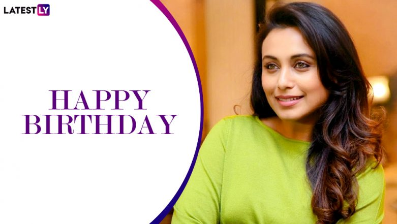 Rani Mukerji Birthday Special: From Black to Hichki, 6 Times the Actress Impressed Us With Her Strong Performances