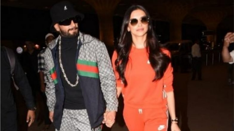 Deepika Padukone and Ranveer Singh Look Vibrant as They Leave for London to Unveil Her Wax Statue at Madame Tussauds-View Pics and Video