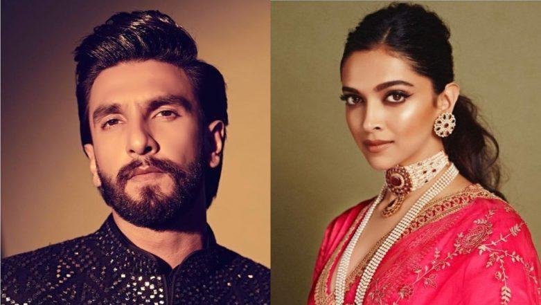 Deepika Padukone And Ranveer Singh Turn Into Glamour Gods For Akash Ambani And Shloka Mehta's Wedding Reception! View Pics