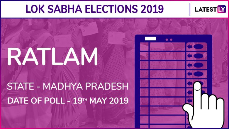 Ratlam Lok Sabha Constituency Result 2019 in Madhya Pradesh: GS Damor of BJP Wins Parliamentary Election