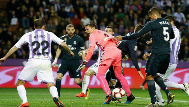 La Liga 2018–19: Real Madrid Beat Valladolid 4-1