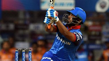 IPL 2019: World Cup Selection Thing Was Running in My Mind, Says Rishabh Pant After His Blistering Knock of 78 off 36 Balls Against RR