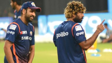 Mumbai Indians Squad Powers Up! Lasith Malinga Recieves a Warm Welcome Ahead of RCB vs MI, VIVO IPL 2019 Clash! Watch Video