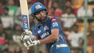 Rohit Sharma Surpasses David Warner to Get This Prolific Record During Mumbai Indians vs Kolkata Knight Riders, IPL 2020