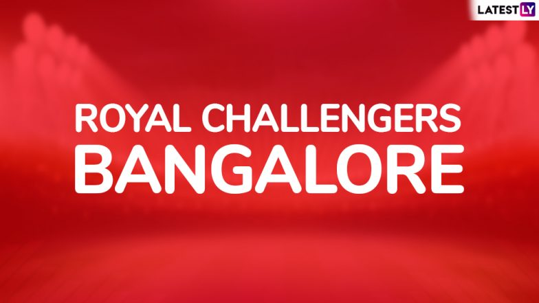 RCB Team in IPL 2019: Schedule and Squad Analysis of Royal Challengers Bangalore in VIVO Indian Premier League 12