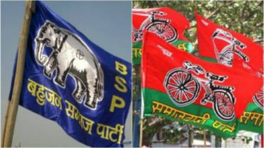 Lok Sabha Elections 2019: Campaign of United Colours of SP-BSP Alliance in Uttar Pradesh to Be Rolled Out After Holi
